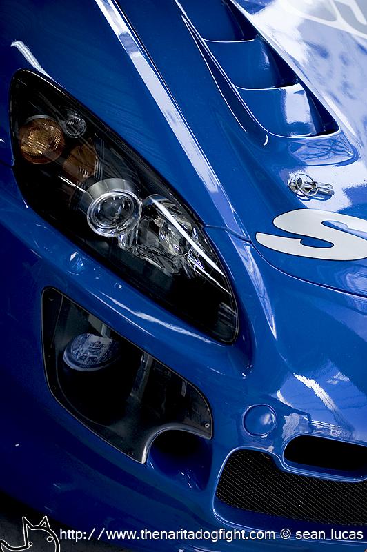 CHROME Maserati Quattroporte SPORT GT - black rims
