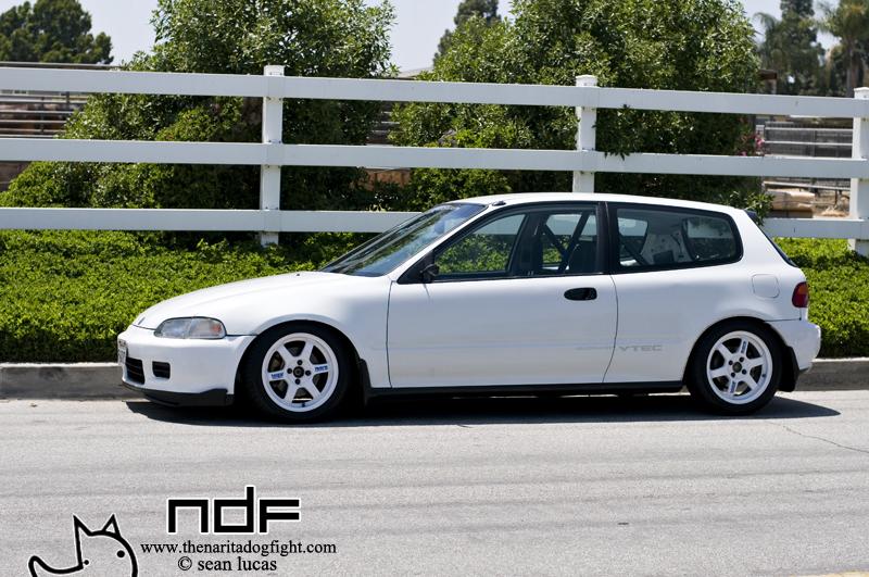"Honda Of Santa Maria >> White TE37's on a White EG Hatch 15""/16"" [quick pic request] - Honda-Tech - Honda Forum Discussion"