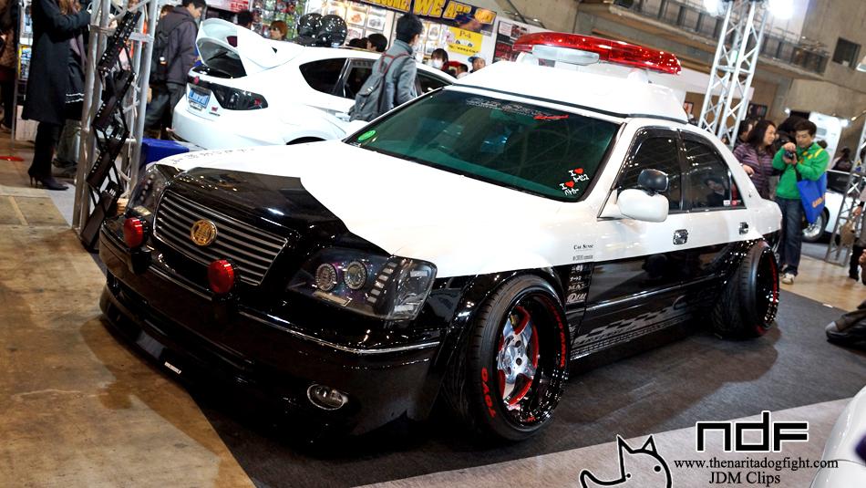 Encounter Car Sense Built Camber Demon Crown Police